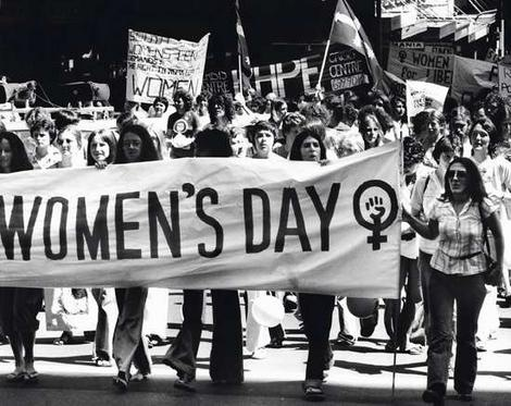 womens day 1970s