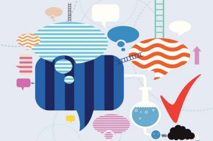 communication illustration crop